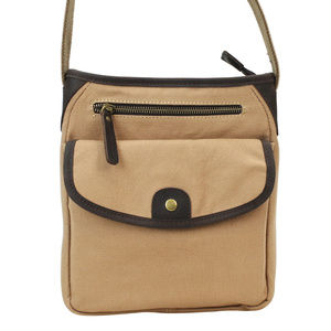 Vintage Cotton Canvas Shoulder Bag CS12kk